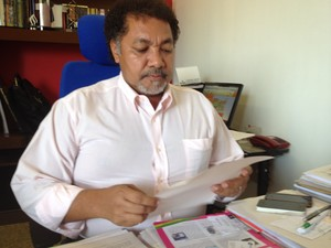 Reitor da Unifap, José Carlos Tavares (Foto: Graziela Miranda/G1)