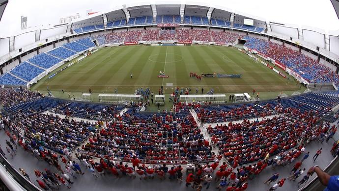 Arena das Dunas América-RN x ABC (Foto: Alexandre Lago)