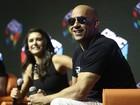 Vin Diesel, Nina Dobrev e outros famosos vão à Comic Con, em São Paulo