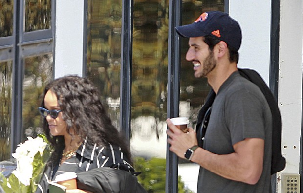 Rihanna e Hassan Jameel (Foto: The Grosby Group)