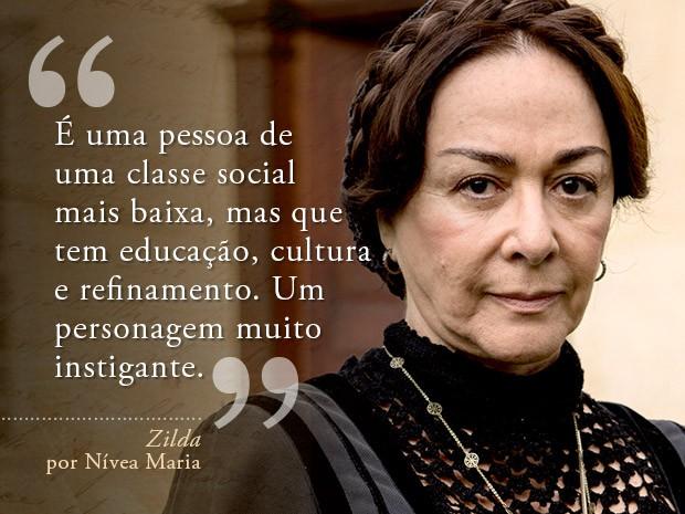 Zilda  (Foto: Fábio Rocha/Gshow)
