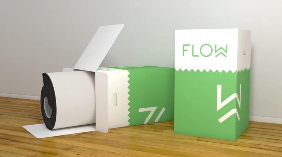 Marca de colchões Flow permite que clientes experimentem os produtos antes de comprá-los (Foto: Divulgação)
