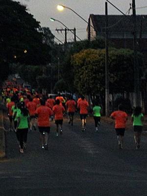 Provas de 10km night run são realizadas em Ituiutaba há duas edições (Foto: 10km Night Run/ Divulgação)