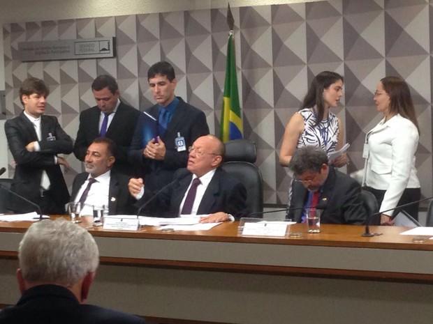 Conselho de Ética do Senado aprova convocação do filho de Cerveró e de ex-funcionários de Delcídio do Amaral (Foto: Gustavo Garcia / G1)