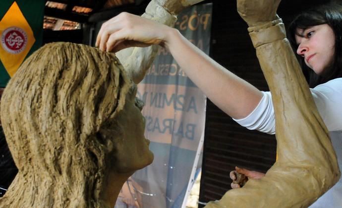 fernandão inter internacional estátua (Foto: Marcelo Campos/MC10)
