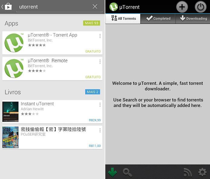 uTorrent para Android (Foto: Aline Jesus/TechTudo)