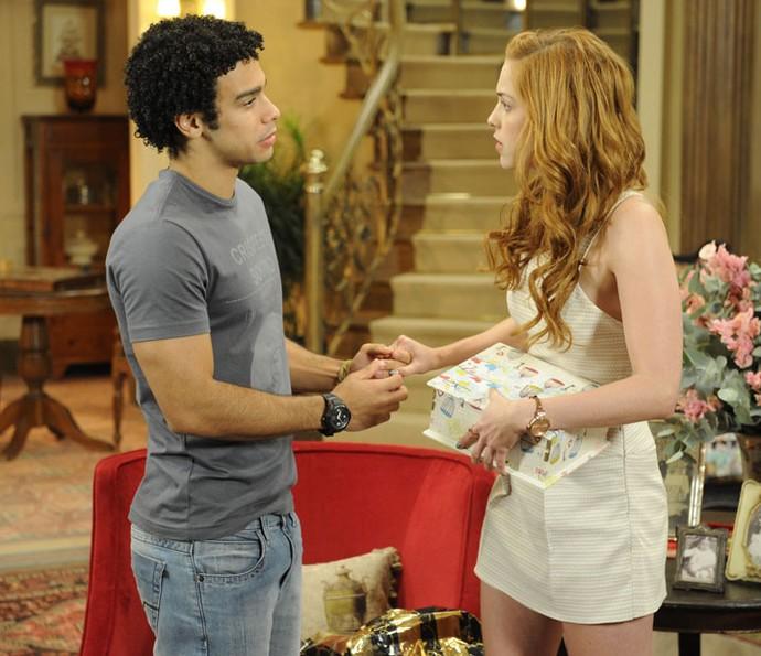 Os dois se conheceram durante as gravações do novela Alto Astral (Foto: Renato Rocha Miranda/Globo)