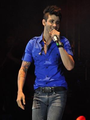 Gusttavo Lima canta pela primeira vez no Recife (Foto: Divulgação)