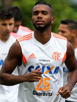 Luiz Antônio Flamengo treino (Foto: Gilvan de Souza)