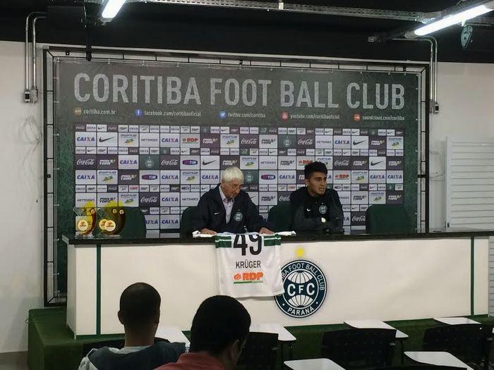 Blog Torcida Coritiba - Dirceu Krüger e Rafhael Lucas