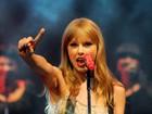 Taylor Swift e Paula Fernandes no Rio