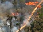 Pará registra quase cinco mil focos de incêndio no mês de agosto