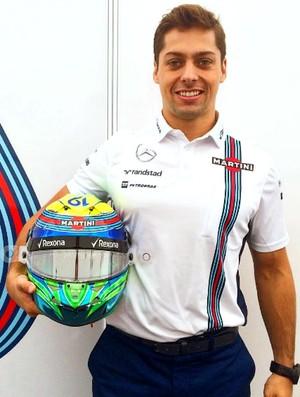 Alex Azevedo, preparador físico de Felipe Massa