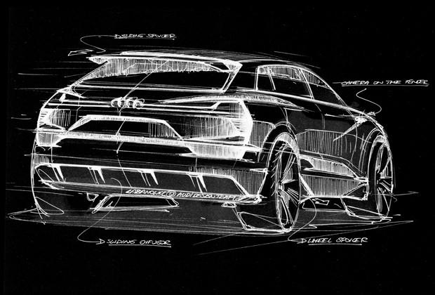 Audi e-tron quattro concept (Foto: Divulgação)