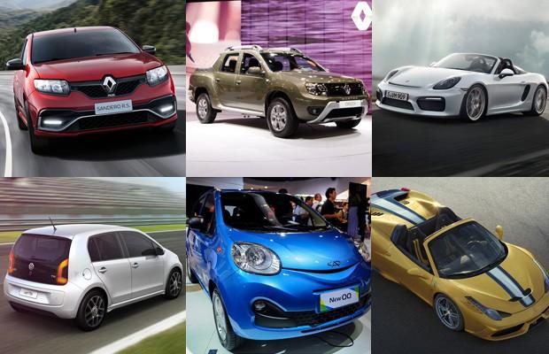 Carros esperados 2º semestre 2015 (Foto: Divulgação)