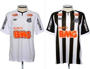 c06d86a22a Santos negocia renovação de patrocínios e mira  camisa fechada ...