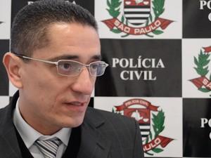 Delegado Rubens José Ângelo (Foto: Reprodução/TV Diário)