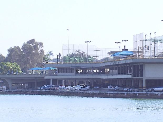 Iate Tênis Clube Pampulha será desapropriado, diz PBH (Foto: Reprodução/TV Globo)