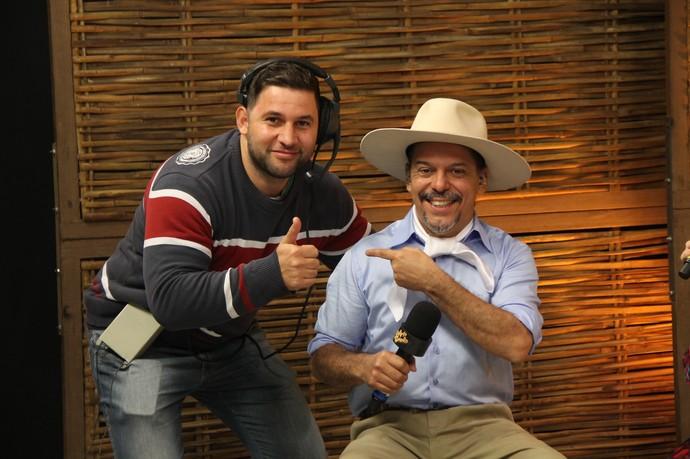 Neto Fagundes Galpão Crioulo (Foto: Divulgação/RBS TV)
