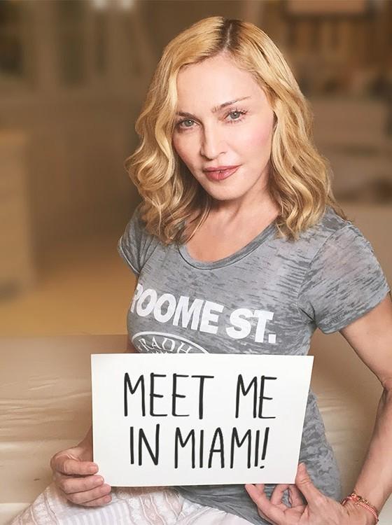 Participantes de leilão vão concorrer a sorteio que dará direito a um encontro com Madonna (Foto: Divulgação)