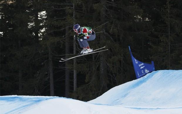 esqui estilo livre Kelsey Serwa Innichen-San Candido (Foto: Getty Images)