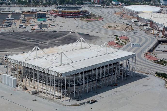 Estádio Aquático Parque Olímpico (Foto: Divulgação Prefeitura do Rio)