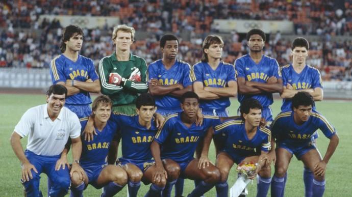 Seleção olímpica 1988 (Foto: Divulgação)