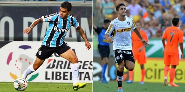 O Grêmio joga contra o Botafogo pela sexta rodada do Brasileirão em partida exibida para a maior parte do país (Foto: Divulgação/Reprodução globoesporte.com)