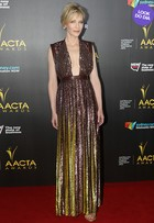 Look do dia: Cate Blanchett usa look metalizado com decotão