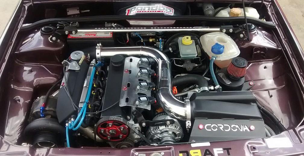 Motor novo e turbo para acelerar na pista (Foto: Eduardo Ferreira Abade/VC no AutoEsporte)