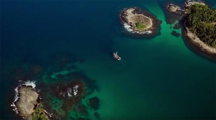 As cenas de 'Sol Nascente' mostram imagens incríveis (Foto: TV Globo)