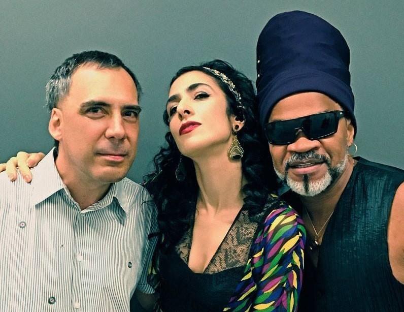 Os Tribalistas Arnaldo Antunes, Marisa Monte e Carlinhos Brown se renem aps 15 anos (Foto: Divulgao)