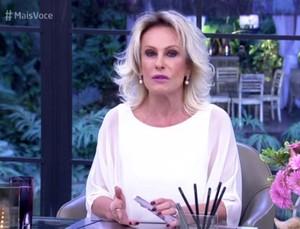 Ana Maria fala sobre Ana Hickmann (Foto: TV Globo)