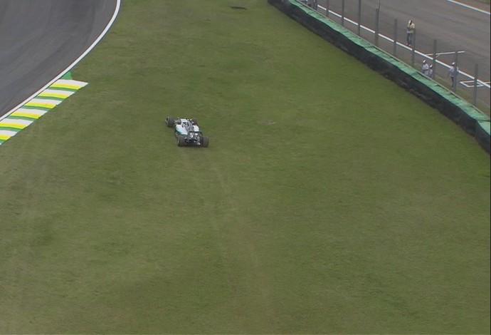 Rosberg - treino - sexta-feira tarde (Foto: Divulgação)
