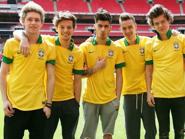 One Direction no Brasil (Foto: Divulgao)