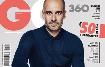 Guardiola faz ensaio fotográfico em Manchester para revista espanhola