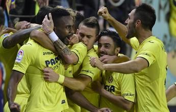 Sem Pato, com caxumba, Villarreal vira nos acréscimos e encosta na liderança