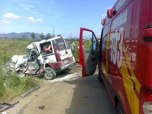 Congestionamento chegou a cinco quilômetros em ambos os sentidos (Foto: Corpo de Bombeiros de Navegantes/Divulgação)
