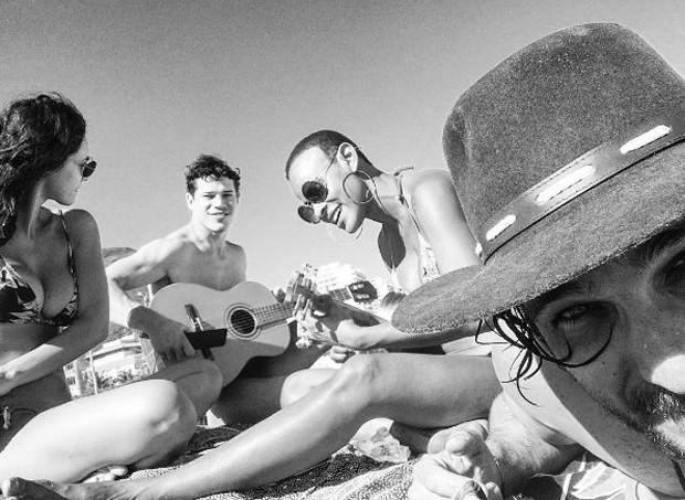 Débora Nascimento, José Loreto, Aline Wirley e Igor Rikli (Foto: Reprodução/Instagram)