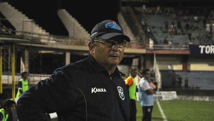 Lúcio Santarém durante a partida entre São Francisco e Paysandu (Foto: Weldon Luciano - GloboEsporte.com)