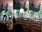 Rapaz faz performance 'lacradora' em festa de formatura e 'causa' na web