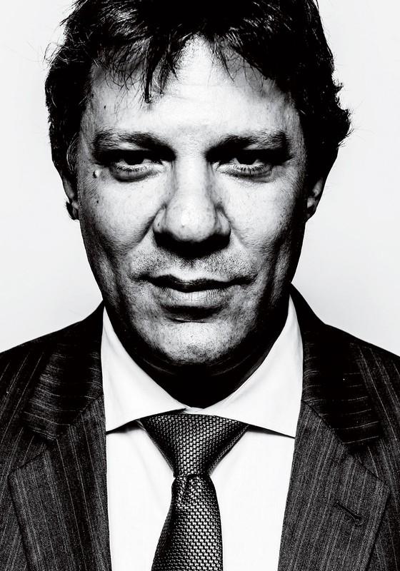O prefeito Fernando Haddad (Foto: Gabriel Rinaldi/ÉPOCA)