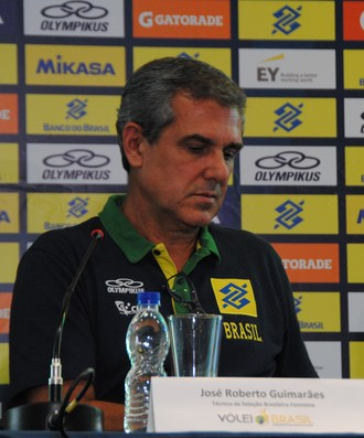 José Roberto Guimarães vôlei (Foto: João Gabriel Rodrigues)