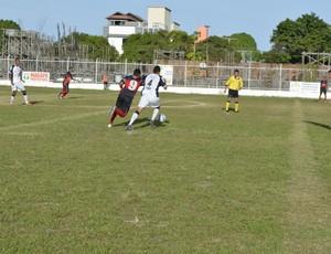 Trem bate Ypiranga e tem chances de ir à final do 2º turno do Amapazão (Foto: Cassio Albuquerque/GE-AP)