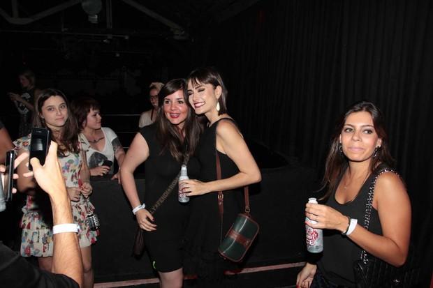 Maria Casadevall em festa (Foto: Orlando Oliveira/Ag News)