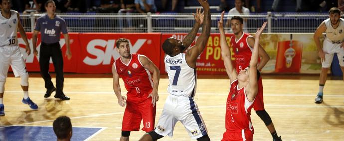 Minas perde para o Paulistano na Arena Minas (Foto: Orlando Bento)