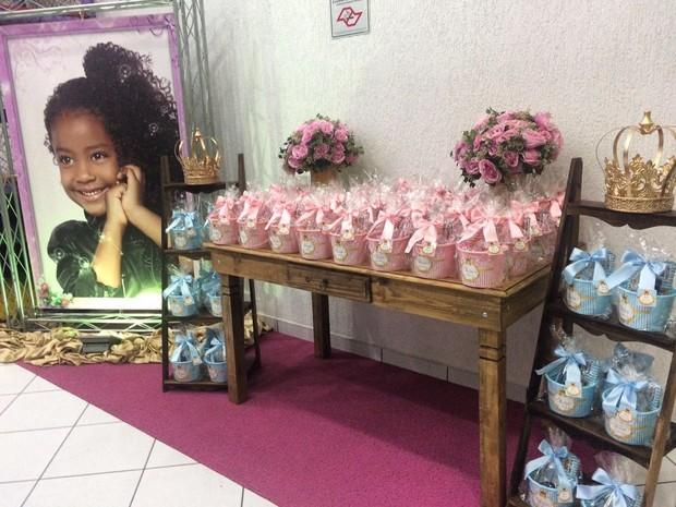 Aniversário de Sofia, filha de Negra Li (Foto: Divulgação)
