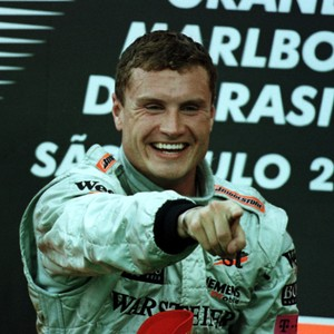 Fórmula 1 Davida Coulthard vitória GP do Brasil Interlagos 2001 (Foto: Agência Getty Images)