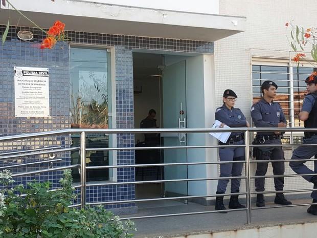 Operação acontece em Pinheiros (Foto: Divulgação/ Sesp)