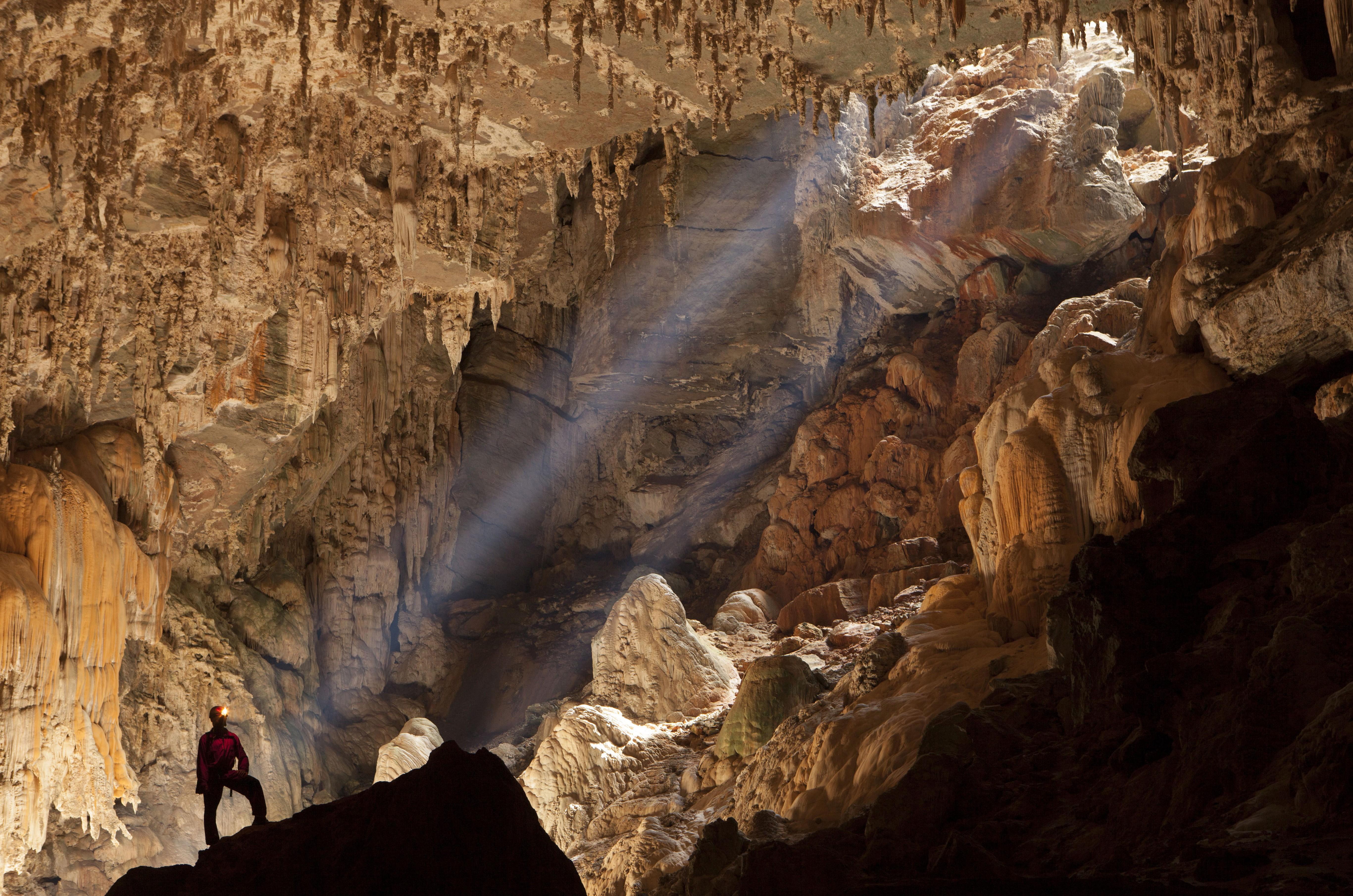 Caverna Terra Ronca, entre São Domingos e Guarani de Goiás (GO) (Foto: Wikimedia Commons)